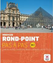 Nouveau rond-point 3 ; pas à pas ; niveau B1.1 ; livre de l'élève - Couverture - Format classique