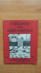 J'ORGANISE MON JARDIN D'AGREMENT les carnets de l'ami n° 7 - Couverture - Format classique