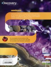 Roches et minéraux - 4ème de couverture - Format classique