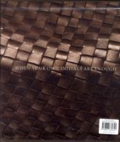 Bottega veneta - 4ème de couverture - Format classique