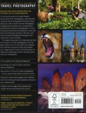 Lonely Planet's guide to travel photography (4e édition) - 4ème de couverture - Format classique