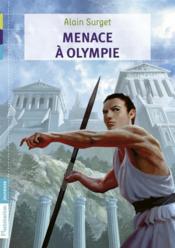 Menace à Olympie - Couverture - Format classique
