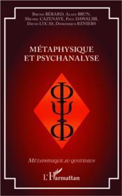 Métaphysique et psychanalyse - Couverture - Format classique