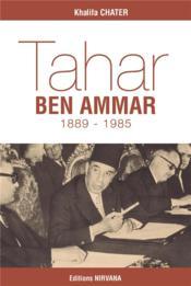 Tahar Ben Ammar - Couverture - Format classique