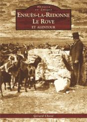 Ensuès-la-Redonne ; le Rove et alentour - Couverture - Format classique
