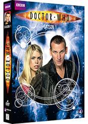 Doctor Who - Saison 1 - Couverture - Format classique