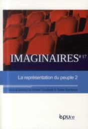Imaginaires, n 17/2013. la representation du peuple - 2 - Couverture - Format classique