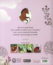 L'histoire vraie de Pamir le cheval de Przewalski - 4ème de couverture - Format classique