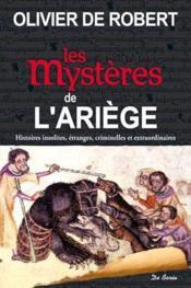 Les mystères de l'Ariège - Couverture - Format classique