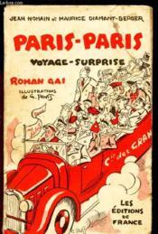 Paris - Paris Voyage Surprise - Roman Gai - Couverture - Format classique