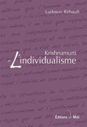 Krishnamurti et l'individualisme - Couverture - Format classique
