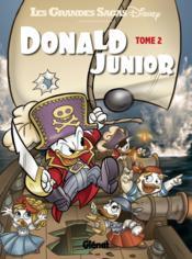 Donald junior t.2 - Couverture - Format classique