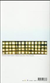 Figures qui bougent un peu et autres poèmes - 4ème de couverture - Format classique