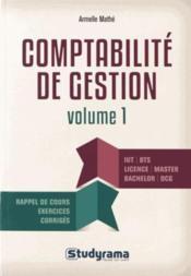 Comptabilité de gestion - Couverture - Format classique
