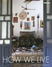 How we live - Couverture - Format classique