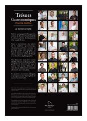 Tresors Gastronomiques En Charente-Maritime, Le Terroir Revisite - 4ème de couverture - Format classique