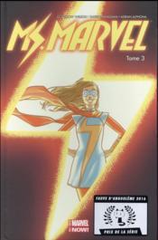 Ms. Marvel T.3 - Couverture - Format classique