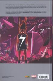 Ms. Marvel T.3 - 4ème de couverture - Format classique