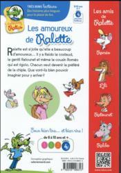 Les amoureux de Ralette - 4ème de couverture - Format classique