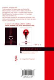 Génération K t.1 - 4ème de couverture - Format classique