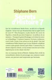 Secrets d'histoire t.7 - 4ème de couverture - Format classique