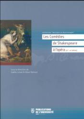 Comedies De Shakespeare - Couverture - Format classique