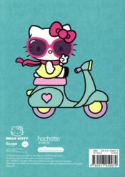 Agenda Hello Kitty (édition 2018/2019) - 4ème de couverture - Format classique