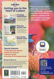 Cape Town & the garden route (9e édition) - 4ème de couverture - Format classique