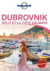 Dubrovnick et la Côte Dalmat (édition 2019) - Couverture - Format classique