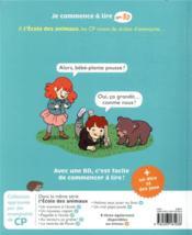 Un bébé à l'école - 4ème de couverture - Format classique