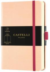 Carnet aquarela poche uni rose pale - Couverture - Format classique