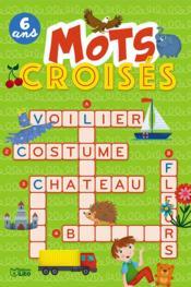 Mots croisés - Couverture - Format classique