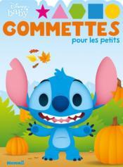 Gommettes pour les petits ; Disney Baby ; Stitch - Couverture - Format classique