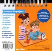 Les incollables ; un mot par jour (édition 2021) - 4ème de couverture - Format classique