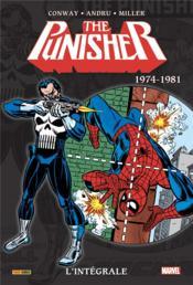 The Punisher ; INTEGRALE VOL.1 ; 1974-1981 - Couverture - Format classique