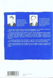 Droit constitutionnel et institutions politiques - 2e ed. - 4ème de couverture - Format classique