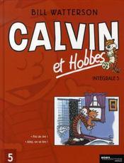 Calvin et Hobbes ; INTEGRALE VOL.5 ; T.5 ET T.6 - Intérieur - Format classique