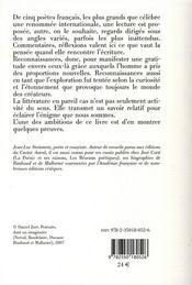 Reconnaissances - 4ème de couverture - Format classique