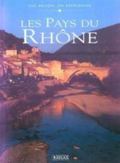 Les pays du rhone - Couverture - Format classique
