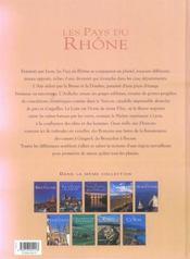 Les pays du rhone - 4ème de couverture - Format classique