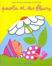 Paola et les fleurs - Intérieur - Format classique