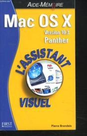 Mac Os X 10.3 Panther - Couverture - Format classique