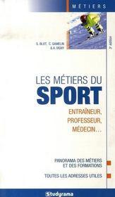 Les métiers du sport (5e édition) - Intérieur - Format classique