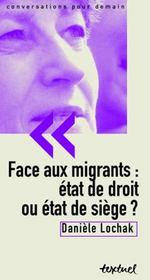 Face aux migrants : état de droit ou état de siège ? - Intérieur - Format classique