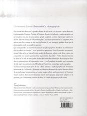 Brancusi et la photographie ; un moment donné - 4ème de couverture - Format classique