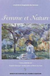 Femme et nature. colloque, 1996 - Couverture - Format classique