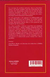 Les Robots Paralleles (Coll. Robotique, 2. Ed.) - 4ème de couverture - Format classique