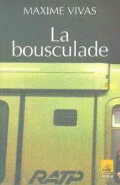 La Bousculade - Couverture - Format classique