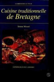Cuisine Traditonnelle De Bretagne - Couverture - Format classique