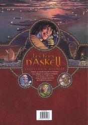 Les feux d'Askell t.2 ; retour à Vocable - 4ème de couverture - Format classique